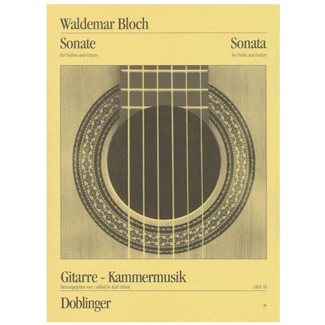 Bloch, W.: Sonate