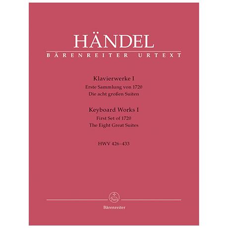 Händel, G. F.: Klavierwerke Band 1 HWV 426-433