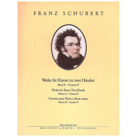 Schubert, F.: Sämtliche Klavierwerke Band II: Sonaten II