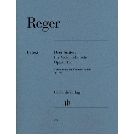 Reger, M.: Suiten G-Dur, d-Moll, a-Moll Op. 131c Urtext