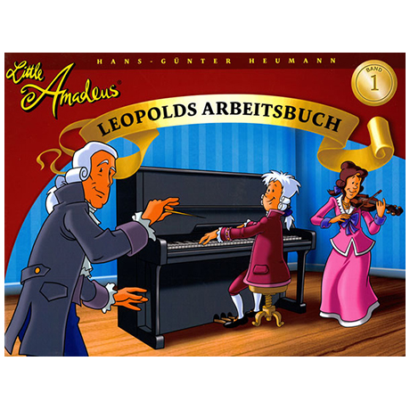 Little Amadeus – Arbeitsbuch Band 1