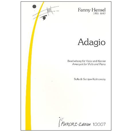 Hensel (Mendelssohn), F.: Adagio