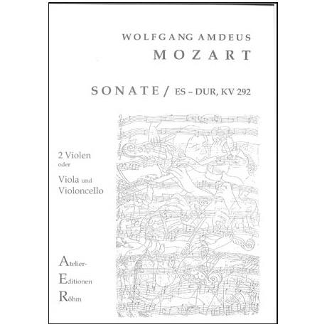 Mozart, W.A.: Sonate in Es-Dur (KV 292)