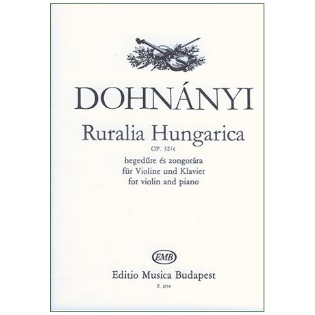 Dohnányi, E.: Ruralia Hungarica Op. 32/c
