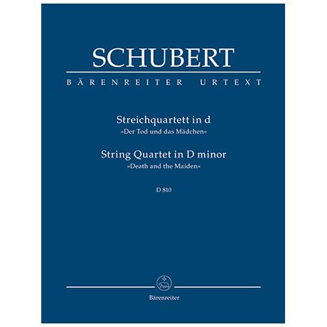 Schubert, F.: Streichquartett d-Moll D 810 »Der Tod und das Mädchen«