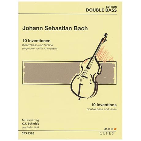Bach, J.S.: Inventionen (aus BWV 722-801)