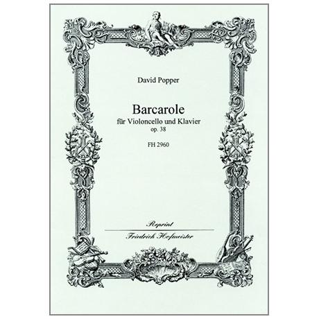 Popper, D.: Barcarole Op. 38