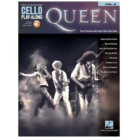 Queen for Cello (+Online Audio)