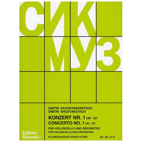 Schostakowitsch, D.: Konzert Nr.1 Op.107
