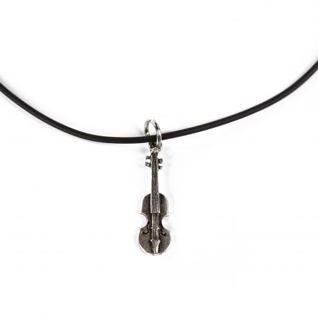 PACATO silly silver Halskette Violine