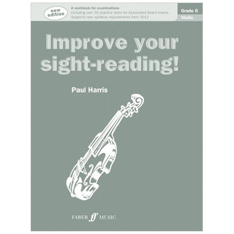 Harris, P.: Improve your sight reading Grade 6