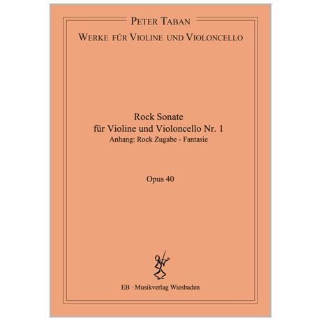 Taban, P.: Rock Sonate Nr. 1 Op. 40 (2017)