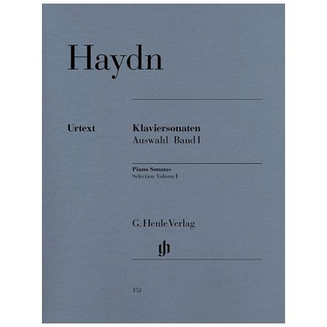 Haydn, J.: Klaviersonaten Auswahl Band I