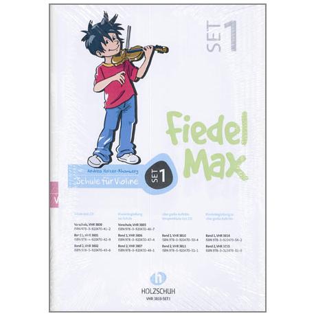 Holzer-Rhomberg, A.: Fiedel-Max für Violine Set 1