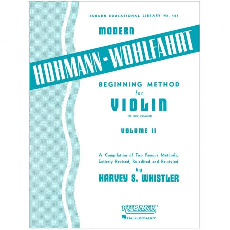 Whistler, H. S.: Beginning Method for Violin Vol. 2