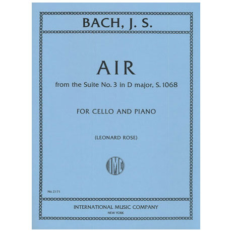 Bach, J.S.: Air aus Suite Nr. 3 in D-Dur