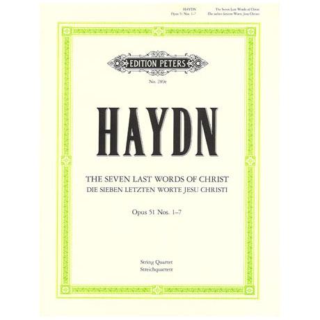 Haydn, J.: Streichquartett Die sieben letzten Worte, op. 51