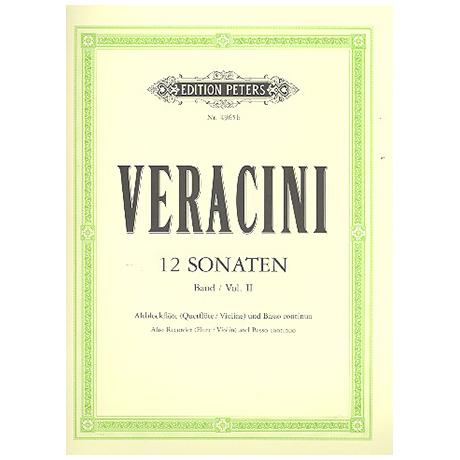 Veracini, F. M.: 12 Violinsonaten Band 2