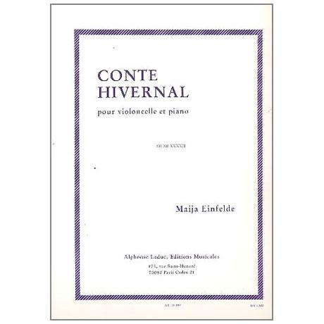 Einfelde, M.: Conte hivernal (Winterliche Erzählung)