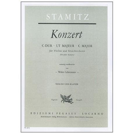 Stamitz, J. A.: Violinkonzert C-Dur