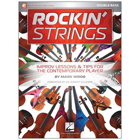 Wood, M.: Rockin' Strings: Double Bass (+Online Audio)