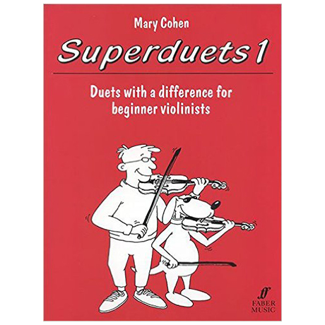 Cohen, M.: Superduets Book 1 – Violin