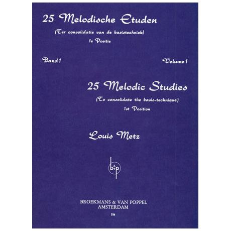 Metz, Louis: 25 melodische Etüden