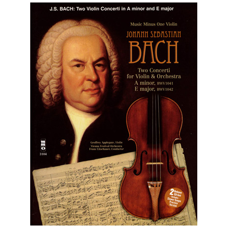 Bach: Two Concerti: A minor BWV1041 & E major BWV1042 (+online Audio)