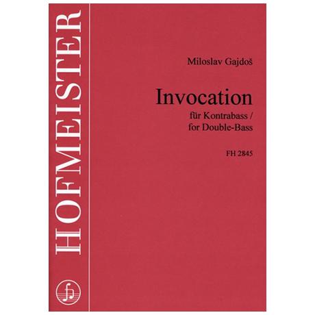 Gajdos, M.: Invocation