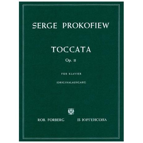 Prokofjew, S.: Toccata Op. 11