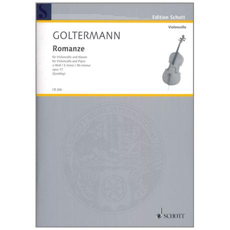 Goltermann, G.: Romanze Op. 17 e-Moll