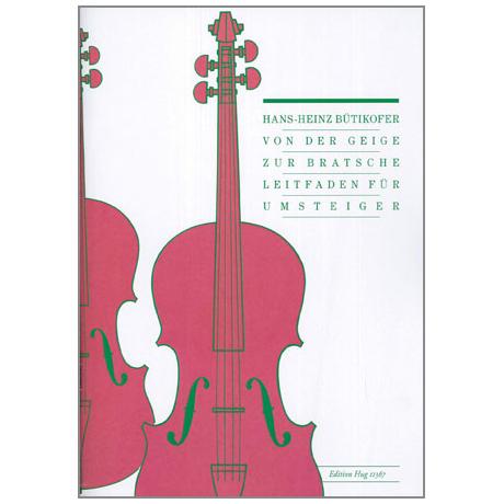 Bütikofer, H.-H.: Von der Geige zur Bratsche
