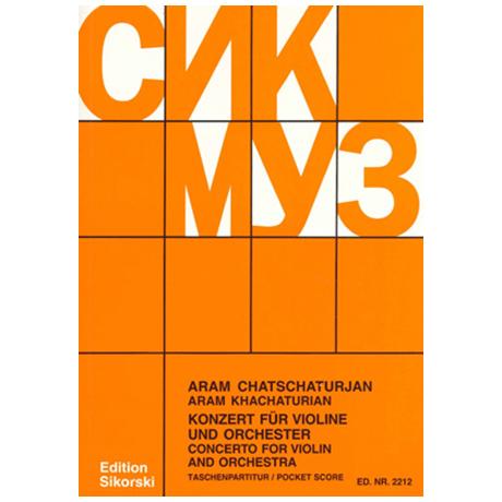 Chatschaturjan, A.: Violinkonzert d-moll 1940