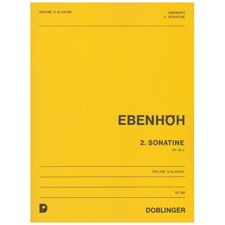 Ebenhöh, H.: 2. Sonatine Op.15/2