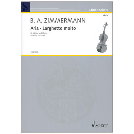 Zimmermann: Aria - Larghetto molto