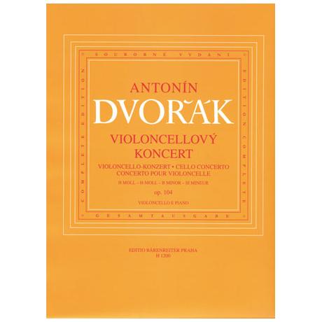 Dvo?ák, A.: Konzert Op.104 h-Moll