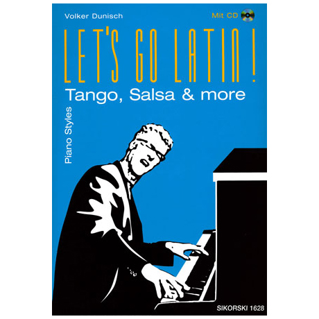 Let's go Latin - Piano Styles (+CD)