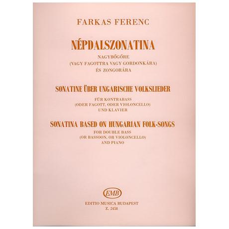 Farkas, F.: Sonatine über ungarische Volkslieder