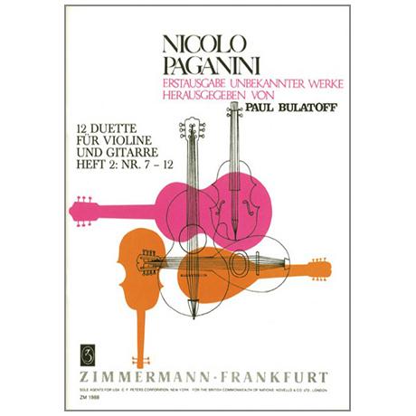 Paganini, N.: Zwölf Duette Band 2