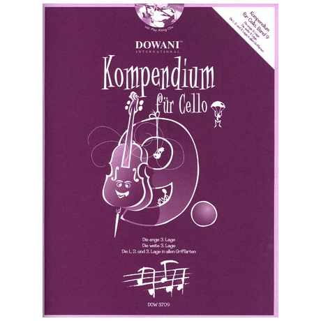 Kompendium für Cello - Band 9 (+CD)