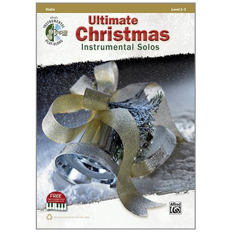 Ultimate Christmas Instrumental Solos for Violin (+CD)