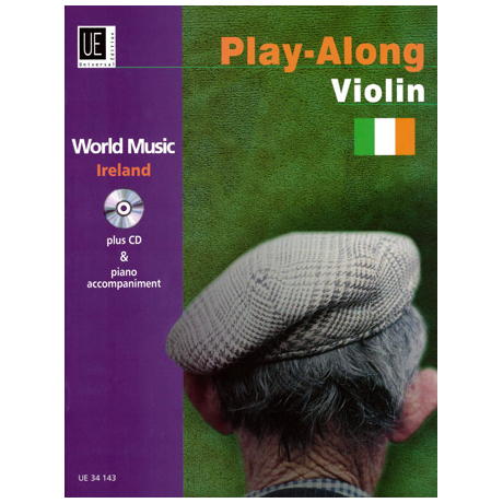 World Music Play Along Violin: Ireland (+CD)