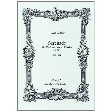 Popper, D.: Serenade Op. 75/1 G-Dur
