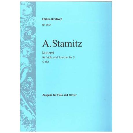 Stamitz, A.: Konzert Nr.3 G-Dur