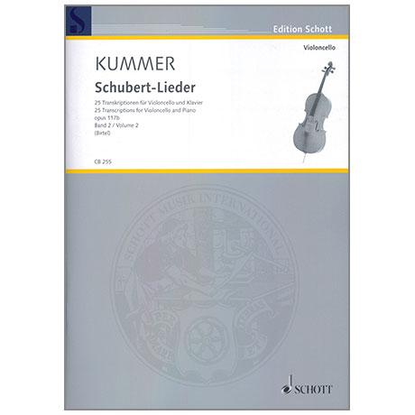 Kummer: Schubert-Lieder Band 2