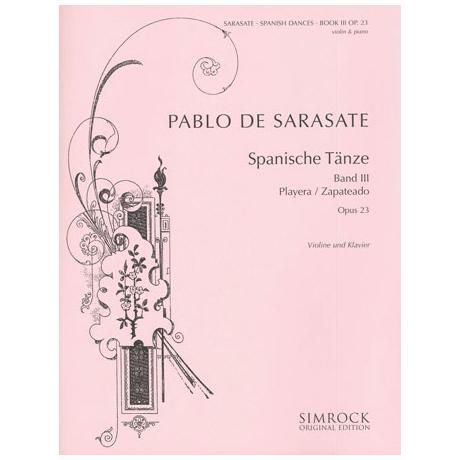 Sarasate, P. d.: Spanische Tänze Band 3