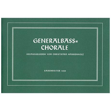 Generalbaß-Choräle