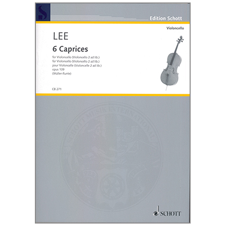 Lee, S.: 6 Caprices Op. 109