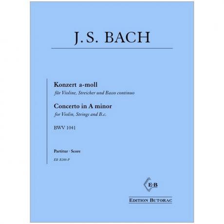 Bach, J. S.: Violinkonzert BWV 1041 a-Moll