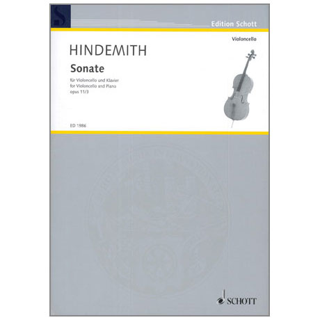 Hindemith, P.: Sonate Op.11 Nr.3